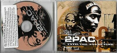 2Pac Until The End Of Time Promo CD Single PDA0045 • 4.25£