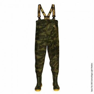 Vass - Tex 355 Lightweight Camouflage Chest Wader VA355-70E Fishing Wader *New* • 99.98£