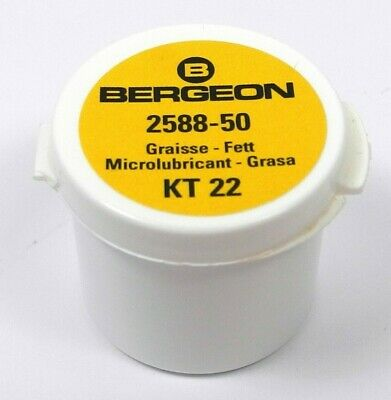 Bergeon 2588-50 Silicon Microlubricant Waterproof Watch Sealing Grease Swiss • 21.86£