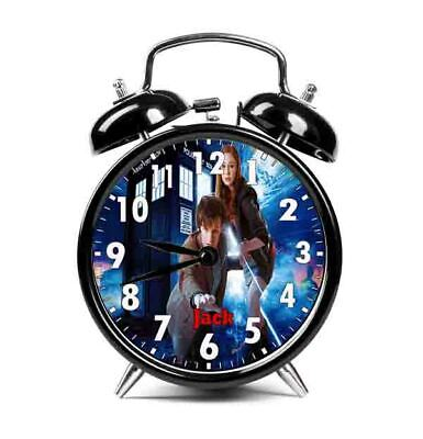 Dr Who Personalised Alarm Clock /Any Text / Bedroom/ Boys/ Girls • 22.99£