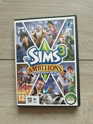 The Sims 3: Ambitions Expansion Pack PC: Mac, 2010 • 7.99£