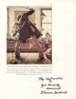$ CDN1048.80 • Buy Norman Rockwell - Inscribed Book Photograph Signed