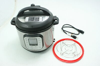 $44.54 • Buy Instant Pot Duo Nova 7-in-1 Electric Pressure Slow Cooker Steamer 6 Quart