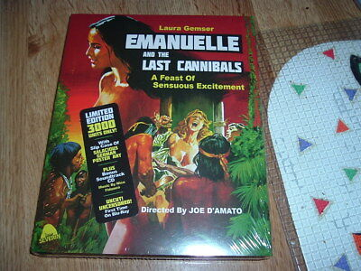 £24.78 • Buy Emanuelle And The Last Cannibals Blu-ray+CD HORROR Laura Gemser + SLIP COVER
