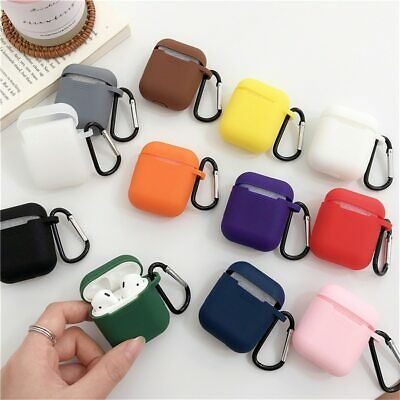 $ CDN4.74 • Buy Strap Holder & Silicone Case Cover For Apple AirPod Air Pod Accessories AirPods
