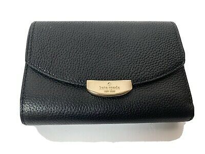 $ CDN59 • Buy Kate Spade New York WALLET Black Clutch Mulberry Street Callie WLRU2605