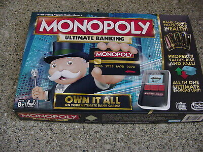 $18 • Buy Monopoly Ultimate Banking Edition Board Game Parker Bros Electronic Gameplay
