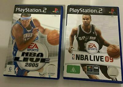 AU18.95 • Buy EA Sports - NBA Live 2005 & 2009 PlayStation 2 PAL