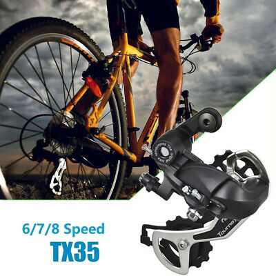 Shimano Tourney RD-TX35 7//8//21//24s Speed Direct Mount Bicycle Rear Derailleur