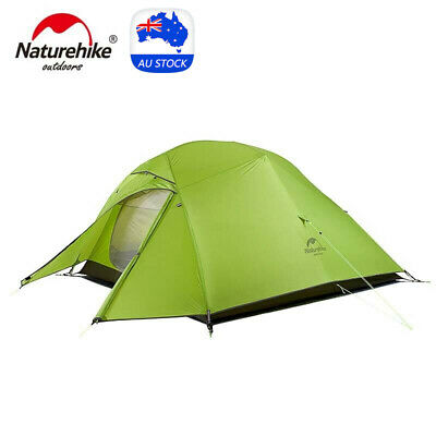 AU179.10 • Buy Naturehike Upgraded Cloud Up 3 Person Tent Ultralight Double Layer Hiking Tent