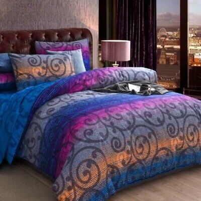 AU29 • Buy Single/KS/Double/Queen/King/Super K Soft Quilt/Duvet Cover Set-Mandala Ocean
