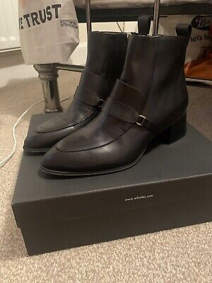 Whistles Century Saddle Loafer Boot 6 • 90£