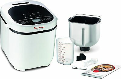 View Details Moulinex OW2101Pain Golden - Breadmaker 1Kg Screen LCD 12 Programmes Automatic • 240.91£