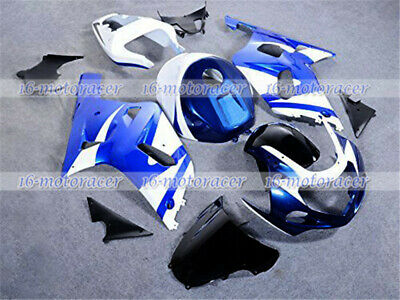$498.16 • Buy Fairing Blue White Full Injection Mold Fit For 2001-2003 GSX-R 600/750 K1 A#46