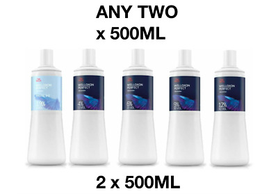 Wella Developers / Peroxides 500ml X 2 **ANY TWO** 1.9%/ 4%/ 6%/ 9%/ 12%  • 11.99£