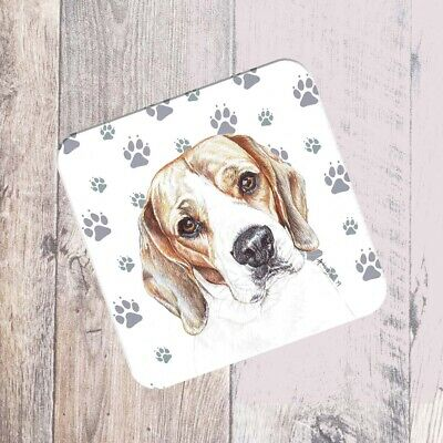 Beagle Coaster Gift/Present Dog - 2 Designs • 2.95£