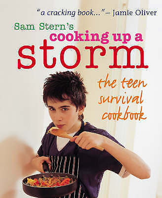 Cooking Up A Storm - The Teen Survival Cookbook By Sam Stern, Susan Stern, Good  • 1.50£