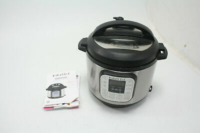 $36.41 • Buy SEE NOTES Instant Pot Duo 7-in-1 Electric Pressure Cooker 6 Quart 14 One Touch