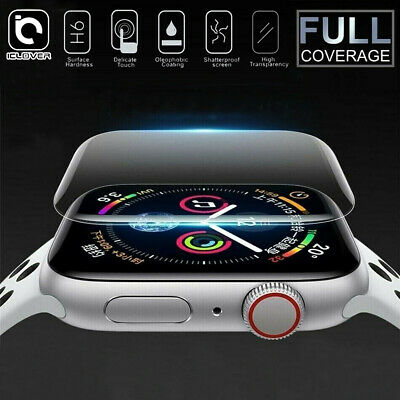 $ CDN4.50 • Buy For Apple Watch Series 5 4 3D Edge Tempered Glass Full Screen Protector 40/44mm