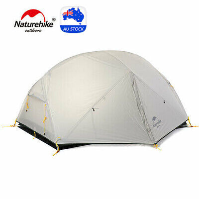 AU235 • Buy Naturehike 2 Person 3 Season Mongar Camping Tent Ultralight Backpacking Tent