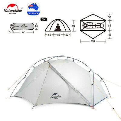 AU199 • Buy Naturehike Ultralight VIK Tent Backpacking Camping Tent Outdoor Hiking 1/2person