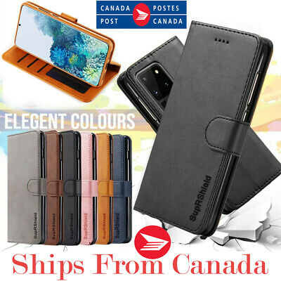 $ CDN8.88 • Buy For Samsung Galaxy S20 FE Ultra S20+ Plus Wallet Case Leather Magnet Flip Cover
