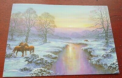 £3.99 • Buy Horse CHRISTMAS CARDS Horses Christmas Card Pack Horse Card EQUESTRIAN Cards