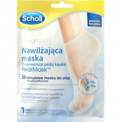 £4.80 • Buy Scholl Expert Care Dry Skin Foot Sock Mask With Macadamia Oil