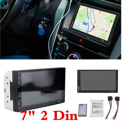 AU92.95 • Buy 7 Inch Double 2 DIN Head Unit Car MP5 Player Bluetooth Touch Screen Stereo Radio