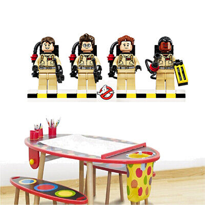 New Lego Ghostbusters Giant Vinyl Wall Sticker Decals Children Room 133 • 12.50£