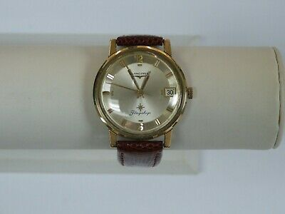 $ CDN660.54 • Buy Vintage Longines Flagship 10k Gold Filled Men's Watch