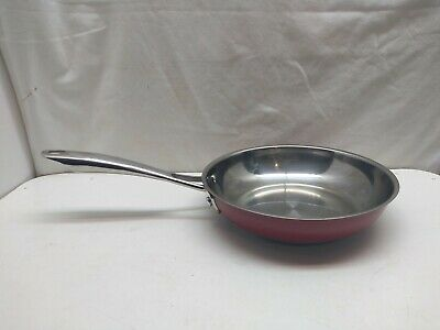 £34.76 • Buy KitchenAid Stainless 8  Omelette Skillet Oven Safe Sauce Stir Fry Saute Chef Pan