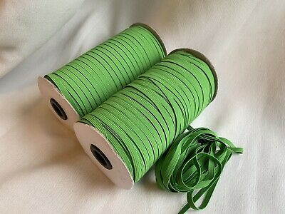 $ CDN13.29 • Buy Shamrock Green 10 Yards 1/4 Inch (6 Mm) Elastic Cord
