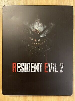 $35 • Buy Resident Evil 2 Best Buy Exclusive Steelbook No Game Lightly Scratched & Dented