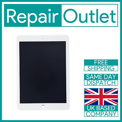 For Apple IPad Air 2 Replacement Touch Screen Digitizer & LCD Assembly (White) • 124.99£