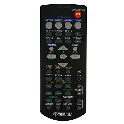 AU48.80 • Buy NEW Genuine Yamaha YAS-71 / YAS-71BL / YAS-71CU Soundbar Remote Control