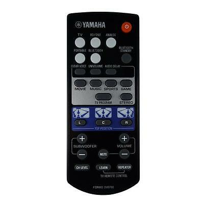 AU55.06 • Buy NEW Genuine Yamaha YSP-1400 / YSP-1400BL Soundbar Remote Control
