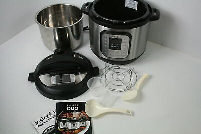 $45.45 • Buy Instant Pot Duo IP-DUO80 8 Qt Electric Pressure Cooker W 14 One Touch Programs