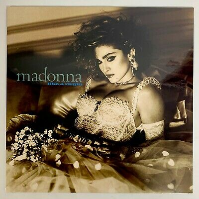 Madonna ‎– Like A Virgin Vinyl Lp Reissue (sealed) • 11.99£