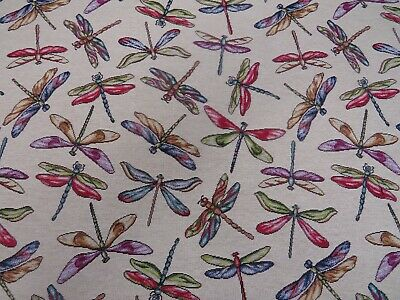 £7.99 • Buy Dragonfly  Animal Tapestry  Designer Fabric Upholstery Curtains Cushions Throws