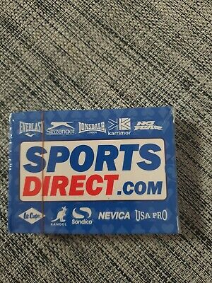 Sports Direct Pack Of Playing Cards. New And Sealed. • 2£