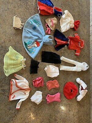 $ CDN40.82 • Buy Vintage Barbie Clothes Lot 60's USED