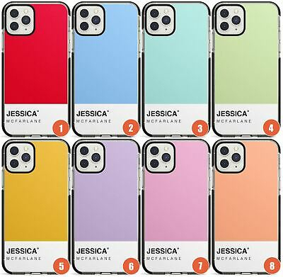 Customisable Solid Colour Block Design Impact Phone Case For IPhone | Personalis • 9.95£