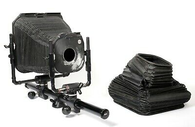 £1050.27 • Buy Fatif DS 8X10 Monorail Camera + Extra Bellows