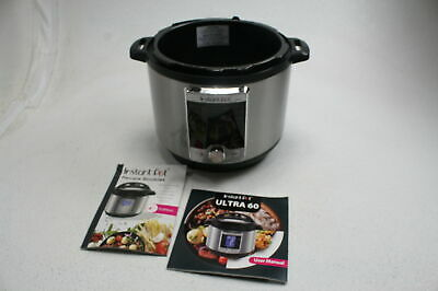 $48.35 • Buy SEE NOTES Instant Pot Ultra 60 10-in-1 Electric Slow Rice Pressure Cooker 6 Qt