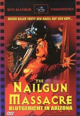 The Nail Gun Massacre (1985) UNCUT DVD Audio Deutsch And English New • 33.99£