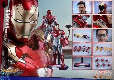 $ CDN654.77 • Buy 1/6 Hot Toys MMS427D19 Spider-Man Homecoming Iron Man Mark XLVII47 Action Figure