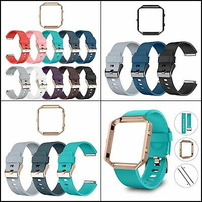 $ CDN19.83 • Buy Bands For Fitbit Blaze Bands With Frame,Special Edition Silicone Strap Multipack