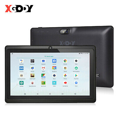 £41.98 • Buy 7 Inch Android Tablet 8GB Quad Core Dual Camera Bluetooth Wifi Kids Tablet PC HD