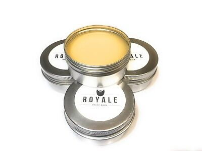 Men's Royale Beard Balm, Beard Wax, 50ml, Afro-Caribbean Hair, Beard Butter • 10£
